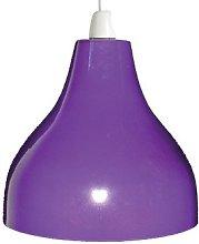 Loxton Lighting 25cm Purple Cafe Bistro Shade,