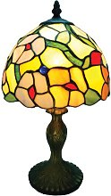 Loxton Lighting 30 cm Tiffany Table Lamp with