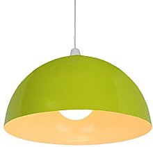 Loxton Lighting 35cm Olive Green Metal Dome Lamp