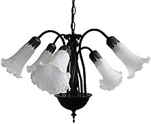 Loxton Lighting 5 Light Lily Pendant Complete with