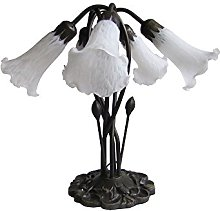 Loxton Lighting 5 Light Lily Table Lamp Complete