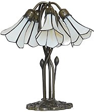 Loxton Lighting 5 Light Lily Table Lamp with Pear
