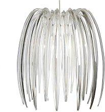 Loxton Lighting Crystal Effect Clear Acrylic Claw