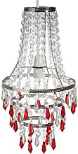 Loxton Lighting Crystal Look Pendant in Clear and