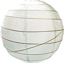 Loxton Lighting White Irregular Bamboo Paper