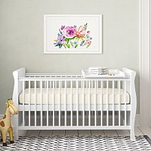 Lozano Cot Bed with Mattress Isabelle & Max