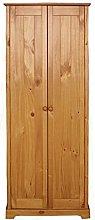 LPD Furniture Wardrobe, Antique Pine, one size