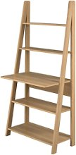 LPD Tiva Oak Ladder Desk