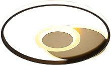 LPFWSK Creative Round Ultra-thin Ceiling Light