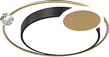 LPFWSK Gold Decorative Ultra-thin Ceiling Lamp