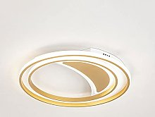LPFWSK Gold Hollow Design LED Energy-saving