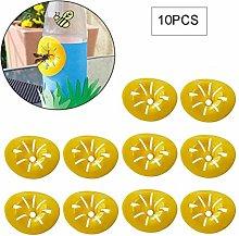 LPOQW 10Pcs Bee Control Reusable Bee Catcher Traps