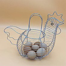 LPOQW Egg Basket Hen Shaped Egg Storage Basket