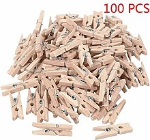 LPxdywlk 100Pcs Wooden Mini Unpainted Note Photo