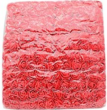 LPxdywlk 144Pcs Mini 2.5cm Foam Rose Artificial