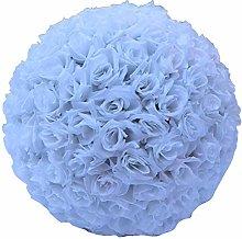 LPxdywlk 20cm Artificial Rose Silk Flower Ball