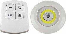 LPxdywlk 3/6Pcs COB LED Wall Light Cabinet Bedroom