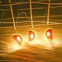 LPxdywlk LED Lights, Cute Watermelon Shape Battery