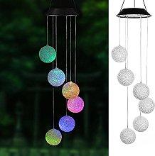 LPxdywlk LED Lights, Solar Color Changing Wind