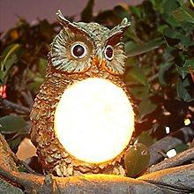 LPxdywlk LED Lights, Solar Owl Garden Yard