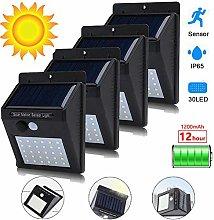 LPxdywlk Solar Lights Outdoor Garden, Wall Light