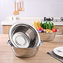 LPxdywlk Stainless Steel Holes Washing Rice Sieve