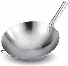 LPXPLP Stainless Steel Frying Pan with Handle