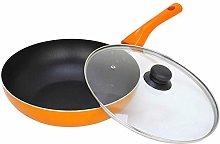 LPXPLP wok Flat bottom wok pan Non-stick Maifan