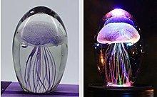 LQCN LED Jellyfish lamp jellyfish light 3D
