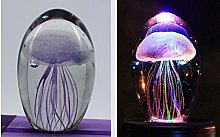 LQCN LED Jellyfish lamp jellyfish light 3D