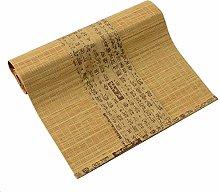 Lqdp Farmhouse Style Bamboo Tea Mat, Width 30cm