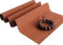 Lqdp Farmhouse Style Brown Table Runner, Natural