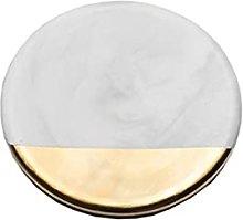 LQIAN Marble Ceramic Placemat Coaster Mats Pads
