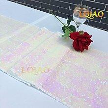 LQIAO Factory Wholesale 30x180cm Sequin Table