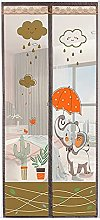 LQJin Screen Door Anti Mosquito Magnetic And Fly