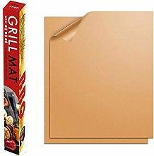 LQKYWNA 2pcs/5pcs BBQ Mat Copper Grill Mat with