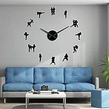 Lrenkey DIY Large Wall Clock - Traditional Thai