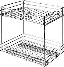 Lrocaoai Pull Out Spice Rack Organizer for Cabinet