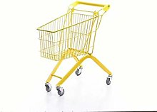 LRXGOODLUKE Mini Shopping Cart, Net Red