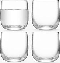 LSA International Borough Shot Glasses, Set of 4,