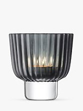 LSA International Pleat Tealight Candle Holder,