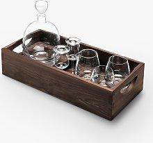 LSA International Whisky Decanter & Glasses Gift