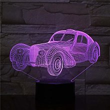LSDAMN 3D Illusion Lamp Led Night Light Antique