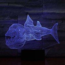 LSDAMN 3D Illusion Lamp Led Night Light Decoration