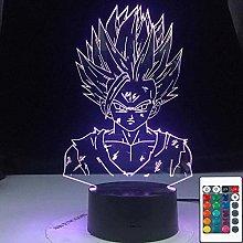 LSDAMN 3D Illusion Lamp Led Night Light Dragon