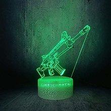 LSDAMN 3D Illusion Lamp Led Night Light Game Tool