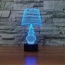 LSDAMN 3D Illusion Lamp Led Night Light Nordic 7
