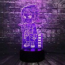 LSDAMN Anime Character Ninja 3D Night Light