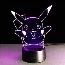LSDAMN Cartoon Anime Elf 3D Night Light Led