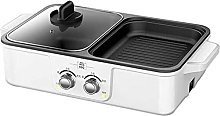 LSDRALOBBEB Hot Plate Table Top Grill 2 in 1 BBQ